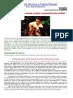 Caderno de Técnica e Prática Musical Prof. Juarez Barcellos