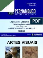 Artes Visuais Elementos e Signos