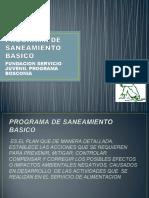 PROGRAMA DE SANEAMIENTO BASICO