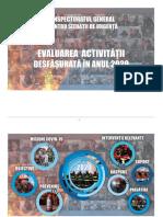 Evaluare IGSU 2020 (18.02.2021)