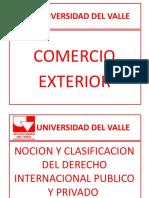 NOCION Y CLASIFICACION DEL DERECHO INTL PUBLICO Y PRIVADO - IUS SOLI - IUS SANGUINI