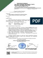 095 Surat Penyampaian Sertifikasi TTK  Periode Februari 2021