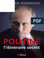 Poutine Litineraire Secret Vladimir Fedorovski