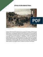 Tema 4 parte 1 - REVOLUCION INDUSTRIAL Y MOVIMIENTO OBRERO