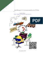 0741 Introduction a Lalgorithmique Et a La Programmation Avec Python