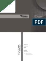 Catálogo Togama Deco 2021