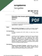 NF en 12715 Injection