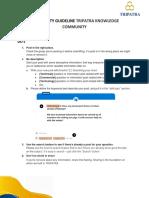 [Rule of Thumb] Community Guideline