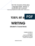 TOEFL iBT 60 - Writing - Student's Course Book