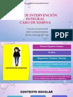 Plan de Intervención Integral Caso de Ximena LISTO