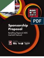 AIDS Walk Charlotte Sponsorship Packet