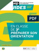 Guide Onisep 2019 - Après La 3e