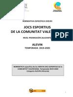 Bases Competición FBMCV_Alevín