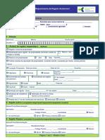 requerimento do registo automovel