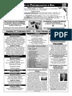 Portarlington Parish Newsletter 21st February