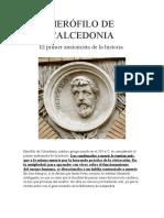 1 HERÓFILO DE CALCEDONIA