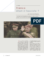 Franco était-il fasciste ?