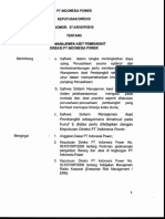 SK 57 Sistem Manajemen Aset Pembangkit PT IP