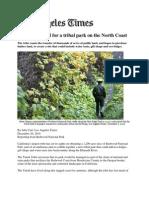 Yurok Seek Land for a Tribal Park on the North Coast Dec 26 2010