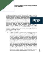 INSTRUMENTO PARTICULAR DE CONTRATO DE COMPRA E VENDA DE IMÓVEL RESIDENCIAL, Inventario