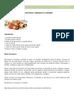 Sugestões Café Da Tarde e Jantar Light