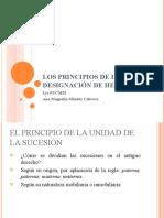 Los Principios de la Designación de Herederos
