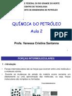 aula 2 forças intermoleculares UFRN