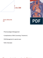2- DM Management and complications  (1)