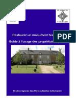 Guide restaurer propriétaires privés 17 12 2012_1