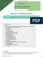 Appendix S_ Welding Provisions - BNBC 2020 Commentary