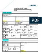EMPLOYMENT APPLICATION FORM (Rev1) (3)(1)