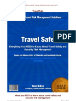 Travel Safe-What You Need to Know About Travel Safety and Security Risk Management