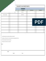 FPM-0001 - Formulário de Plano de Manutenção - Furadeira