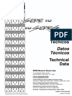 MWM Série 10 Dados Técnicos