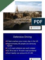 Risk Aware Driving