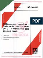 NB 148005 SPAT Conductores Para PAT
