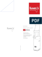 extractor-comercial-kuvings-manual