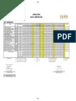 Jadwal HD Feb 2021 TTD