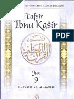 Tafsir Ibnu Katsir Juz 9