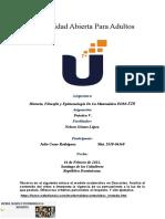 Historia, Filosofía y Epistemología De La Matemática -Practica V