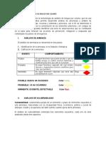 METODOLOGIA DE ANALISIS  DE RIESGO POR COLORES