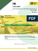 COMPENDIO UNIDAD I FUNDAMENTOS FIL. EPIS 2020 2S