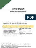 DISEÑO DE EVAPORADORES