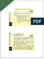 CONTABILIDADE INTERNACIONAL - PDF Download grátis