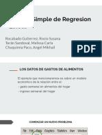 Modelo Simple de Regresion Lineal