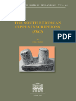 2017_The South Etruscans Cippus Inscriptions - Acta IRF Vol. 44