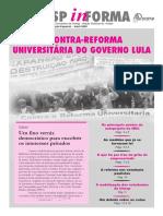 2005 (jornal docentes unesp) contra a contra-reforma universitária de lula
