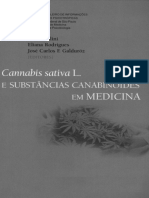 Cannabis Sativa - Substâncias Canabinóides Em Medicina