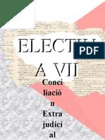 ELECTIVA VII CONCILIACIÓN EXTRAJUDICIAL
