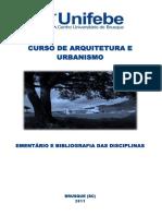 Unifebe - Ementário e Bibliografia
